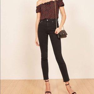 Reformation Hepburn jeans (unworn)